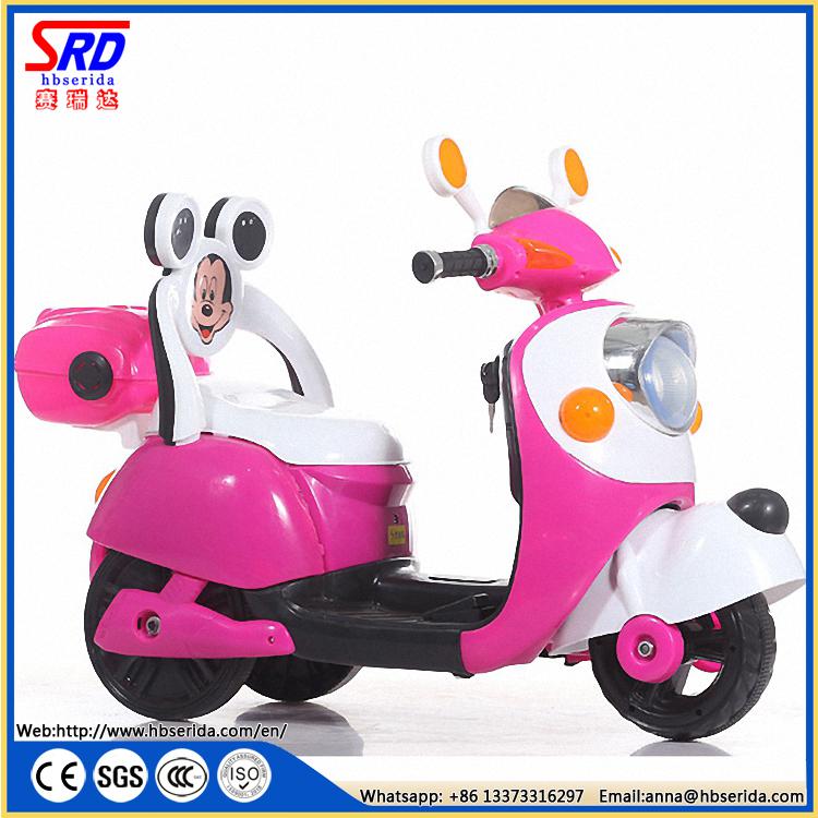 米奇儿童电动车玩具摩托车 SRD-303